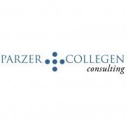 weißes logo Parzer und Kollegen