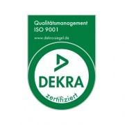 DEKRA Zertifikat ISO 9001 Qualitätsmanagement